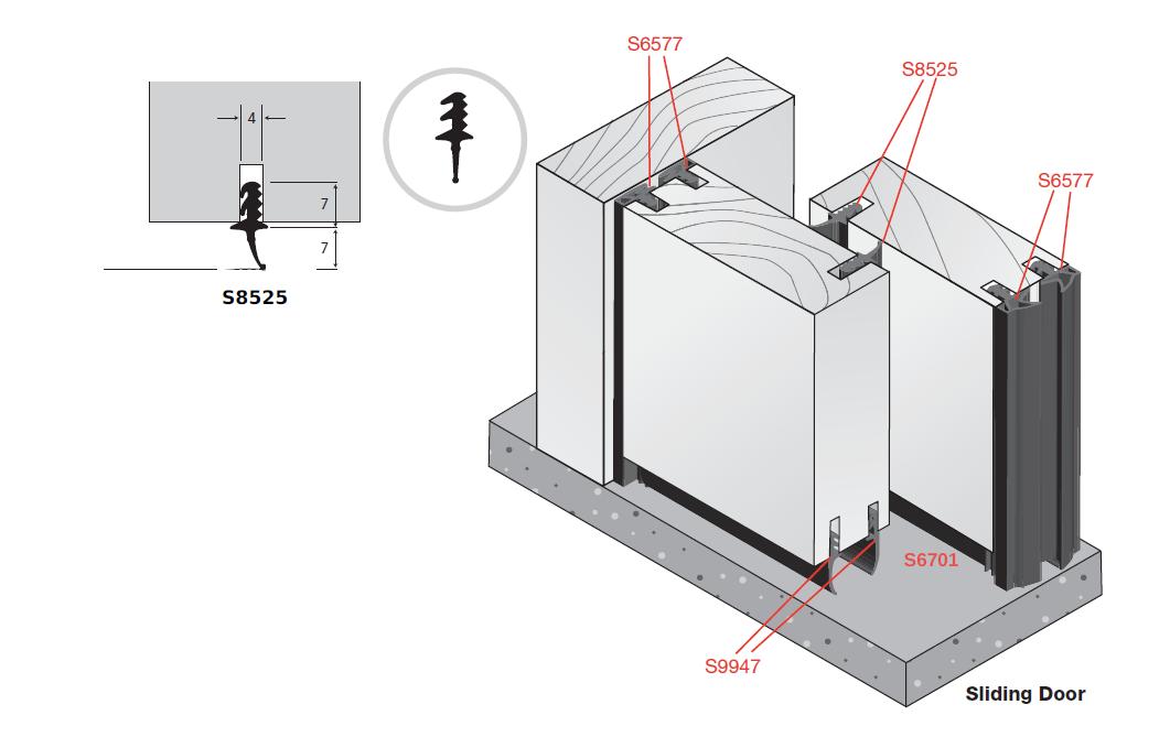 Dsa Class 33 Stc Rw Sliding Door Seal System Dsa Door