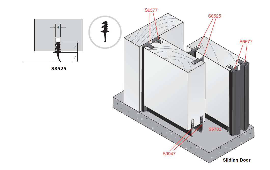 DSA Class 33 STC/Rw Acoustic Sliding Door Seal System  sc 1 st  Door Seals of Australia & DSA Class 33 STC/Rw Sliding Door Seal System | DSA | Door Seals of ...