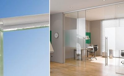Glass Bumper Transparent Glass Door Seal from DSA